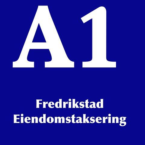 A1 Fredrikstad Eiendomstaksering AS logo