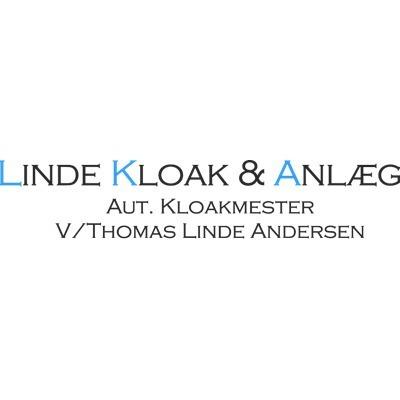 Linde Kloak & Anlæg logo