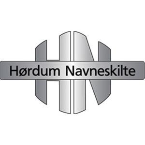 Hørdum Navneskilte logo